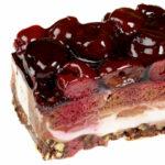 торт с вишней диетический