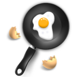 Блинчики с капустой и яйцами