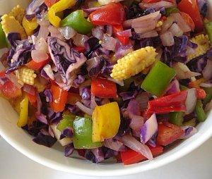 Салаты из овощей и плодов